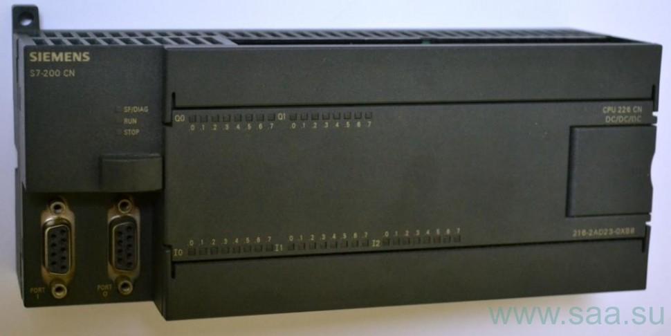 6ES72162AD230XB0 SIMATIC S7-200 Центральный процессор CPU 226, объем памяти программ 16 кбайт/24 К и